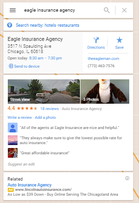 Eagle Insurance Agency   Google Maps.png