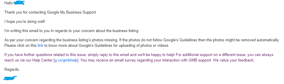 Google Support - Imagery Bug Reply.png