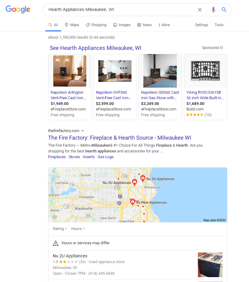 Hearth Appliances Milwaukee - Maps below posistion 1.PNG