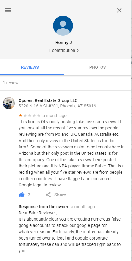 i see your fake reviews.PNG