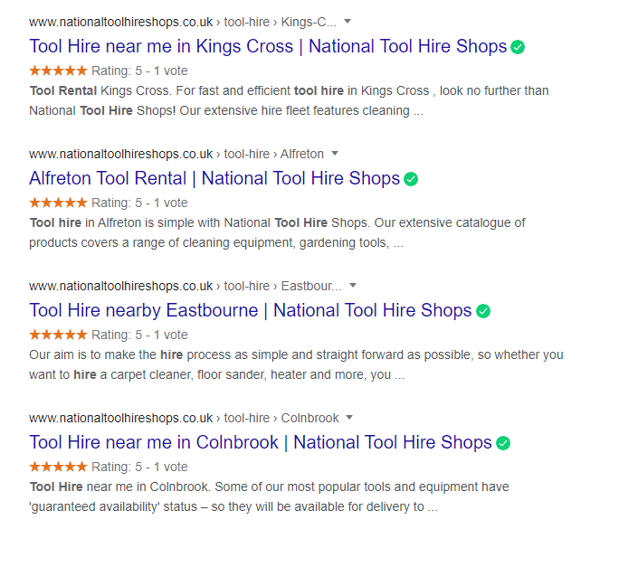 Local Business Reviews Example showing in serrps.png