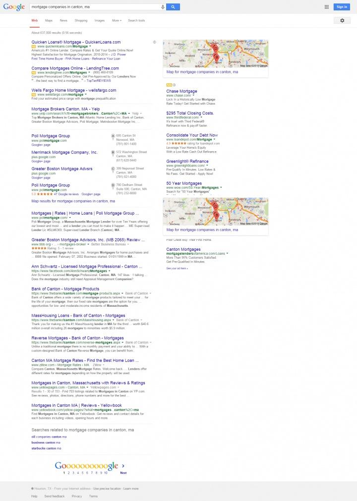 mortgage companies in canton  ma   Google Search 2.17.15.jpg