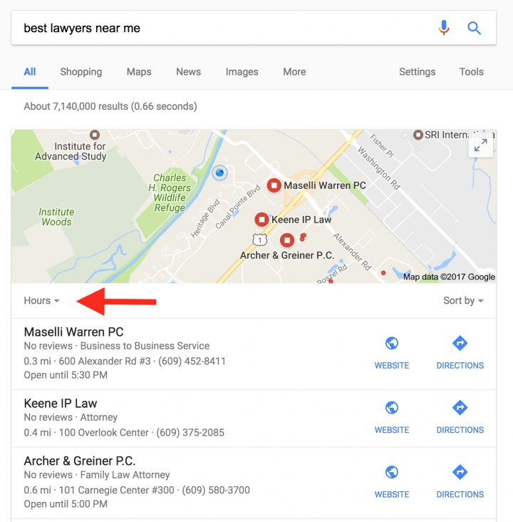 Google Local Pack Filters Out Businesses With Less Than 4