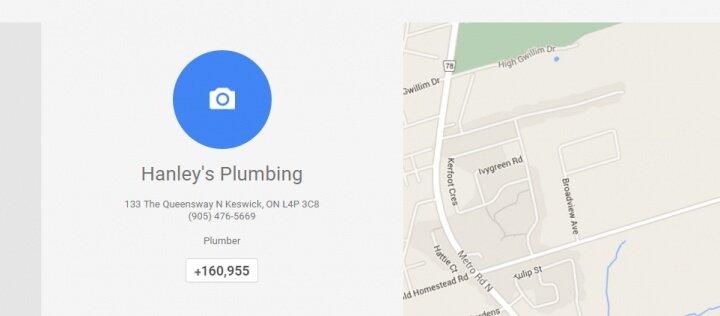 Hanley s Plumbing   About   Google .jpg