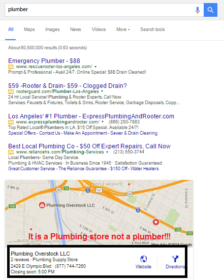 It is a plumbing store not a plumber.png